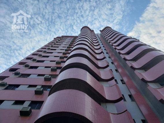 Apartamento Com 3 Dormitórios Para Alugar, 147 M² Por R$ 2.400/mês - Centro - Presidente Prudente/sp - Ap0275