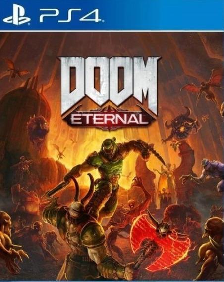 Doom Eternal Ps4 Locação 8 Dias Pt-br