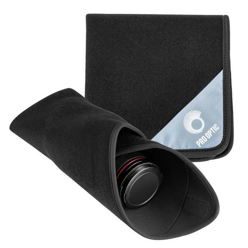 Capa Protetora Envoltório Lentes Adorama Neoprene 40x40 Novo
