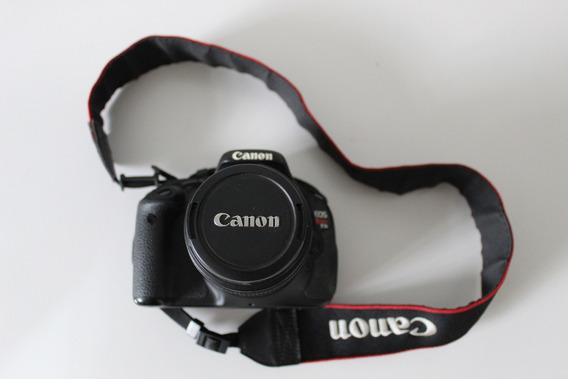 Câmera Canon Profissional 3ti Com Acessórios