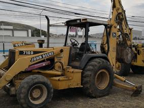 Retro Excavadora Jhon Deer 710 Con Extensión