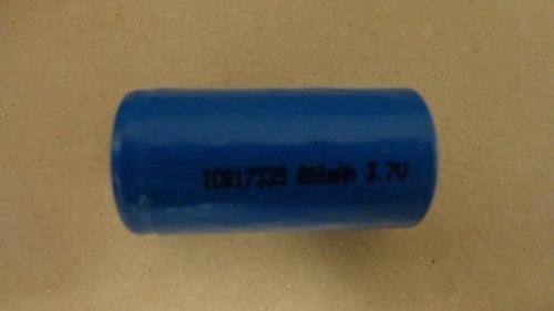 Bateria Li-ion Recarregável 3,7v 800mah Cr123
