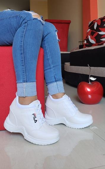 Zapato Zapatilla Botines Plataforma