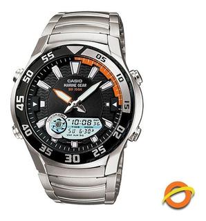 Reloj Casio Amw-710d Marine Sumergible Analogico Digital