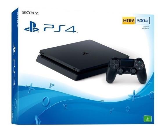 Ps4 Slim Playstation 4 500 Gb Hdr Original Em Campinas Sp
