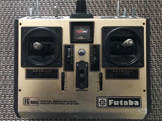 Radio Futaba Fg Antigo Made In Japan Raridade Colecionador