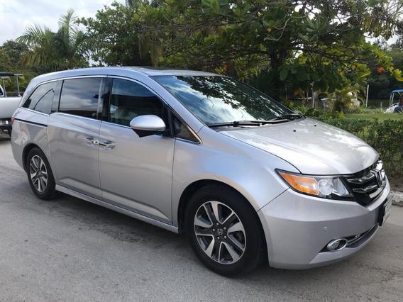 Honda Odyssey 3.5 Touring V6 Ta 2014 Plata