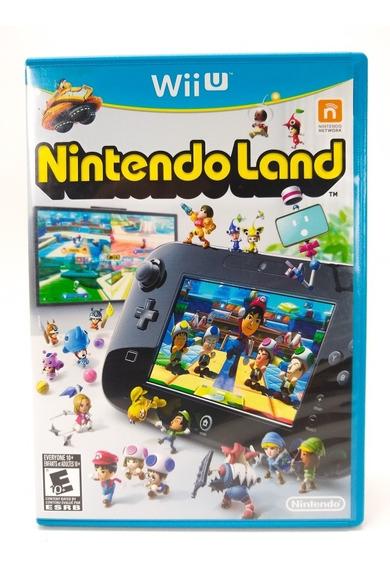 Jogo Nintendo Land Nintendo Wii U Mídia Física Frete Grátis