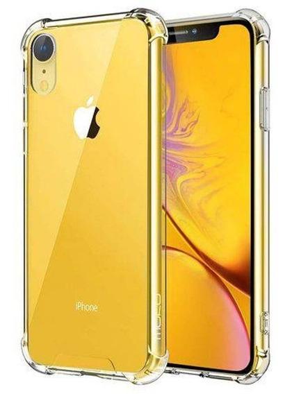 Capinha Silicone Transparente Antichoque iPhone Xr