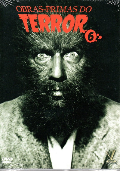 Dvd Obras-primas Do Terror 6 S/cards Versatil Bonellihq L19