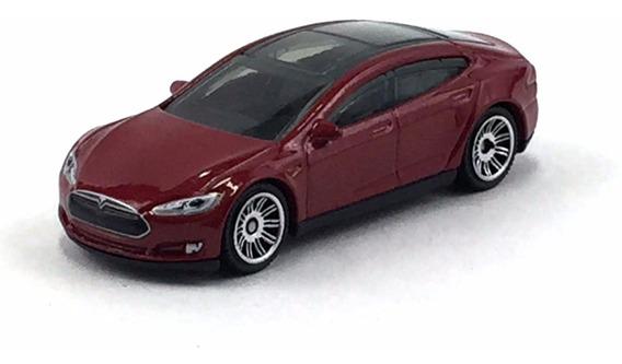 Matchbox Tesla Model S 07/2015 1/64 Loose !!!