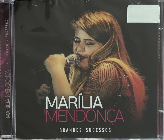 Cd Marília Mendonça - Grandes Sucessos (original E Lacrado)