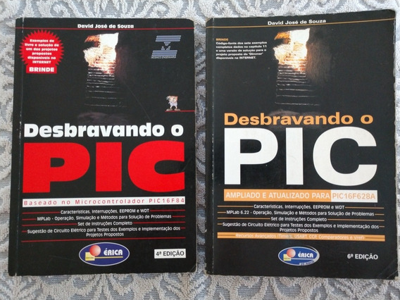 2 Livros - Desbravando O Pic - David José De Sousa