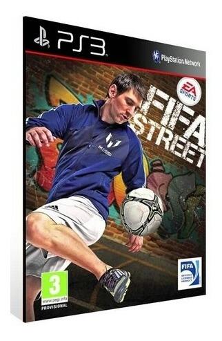 Fifa Street Ps3 Midia Digital Leia Descrição