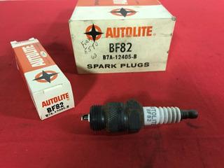 10 - Nos Autolite Bf82 B7a-12405-b Spark Plugs For