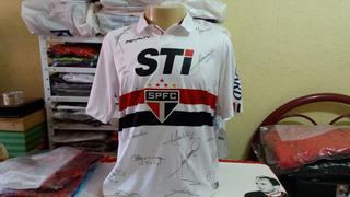 Camisa Do São Paulo Autografada.