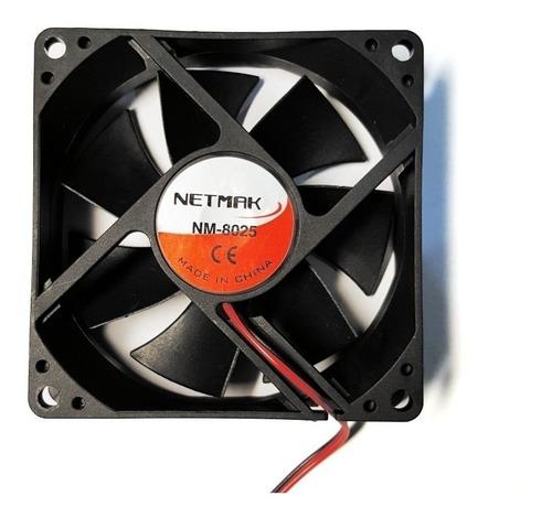 Imagen 1 de 2 de Fan Cooler  Ventilador 8 Cm  Cpu  Peltier  12 V