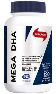 Mega Dha Vitafor 1000mg - 120 Cápsulas