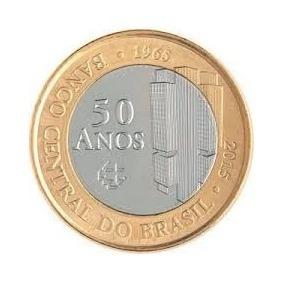 Moedas-nacionais-moedas-comemorativas-50 Anos Bacem