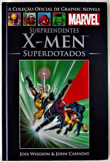 Surpreendentes X - Men - Superdotados (salvat 36)