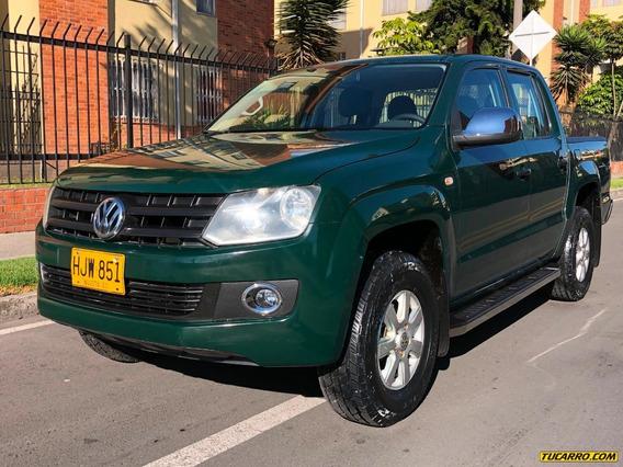 Volkswagen Amarok Trendline 4x4 2000cc Mt Td Aa