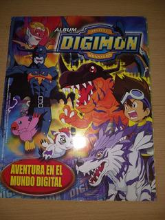 Album Figuritas Digimon Digital Monster Falta 1 Figurita Col