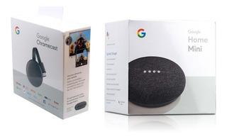Combo Google Home Mini + Chromecast 3era Generacion