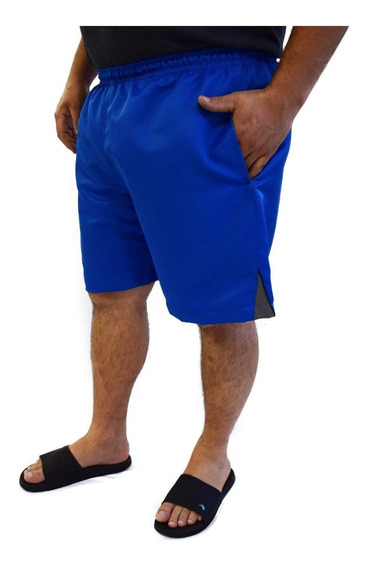Short Bermuda De Elástico Plus Size 50 Até 68 Grande Verão