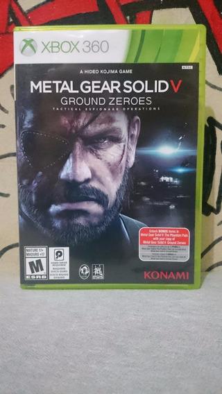 Metal Gear Solid V Ground Zeroes Xbox 360 Frete R$10