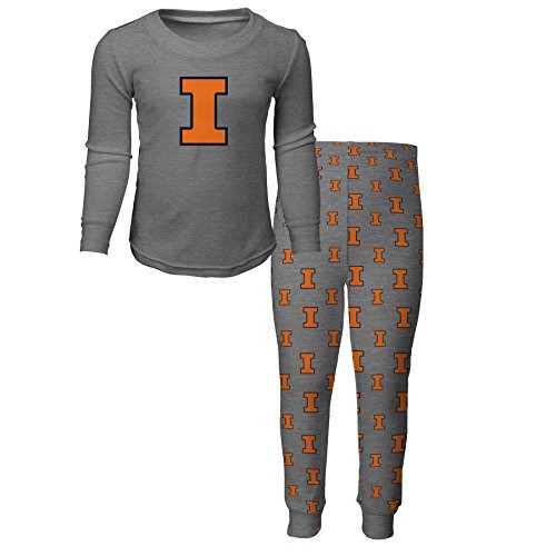 Outerstuff Ncaa Illinois Illini Boys Camiseta De Manga Larga