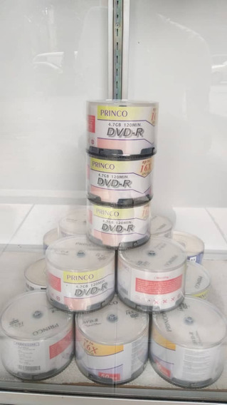 Cd-dvd-r Princo 4.7gb 120min Virgen/en Blanco Ccc