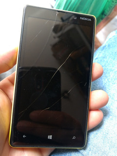 Celular Nokia Lumia 820 Rm825 (defeito) 1/19