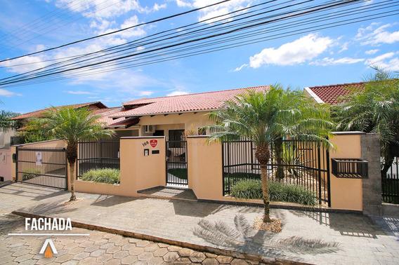 Acrc Imóveis - Casa Com 03 Dormitórios Sendo 01 Suíte Master E 02 Vagas De Garagem - Ca00902 - 33677006