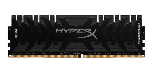 Memória Ram Kingston Hyperx Predator 8gb 2400mhz