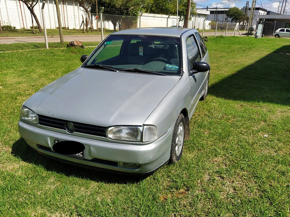 Volkswagen Gol Motor 1.6 1997 Gris 3 Puertas