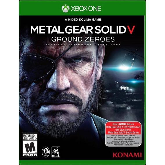 Metal Gear Solid V Ground Zeroes - Xbox One - Novo Lacrado