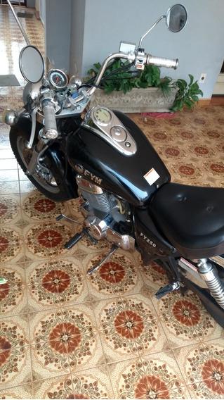 Moto Fym 250 Preta Ano 2007