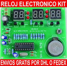 ce1c59942f9b Kit Para Armar Reloj Digital en Mercado Libre México