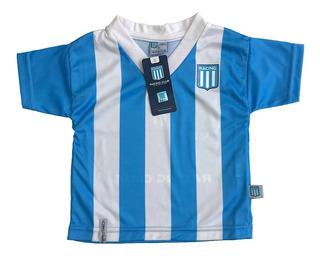 Camiseta Bebe Racing Club Licencia Oficial