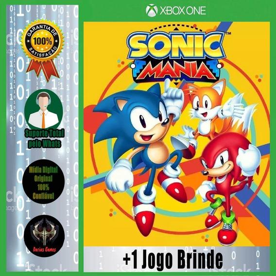 Sonic Mania Xbox One Midia Digital + 1 Jogo Brinde