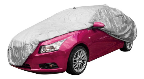 Imagen 1 de 9 de Lona Cubre Auto Reforzada Protege Lluvia Sol Filtro Uv