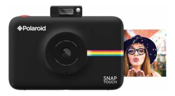 Câmera Polaroide Snap Touch Polstb Preta Original Lacrada