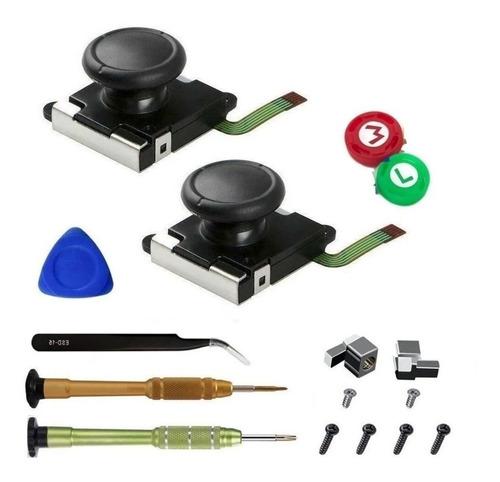 Imagen 1 de 8 de Analogico Control X2 Joy Con Destornillador Repuesto Stick Combo Destornillador Triwing Respuesto