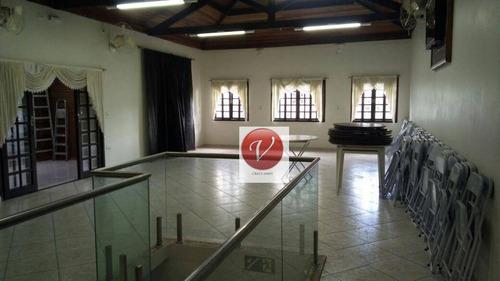 Imagem 1 de 17 de Salão Para Alugar, 170 M² Por R$ 3.500,00/mês - Centro - Santo André/sp - Sl0145