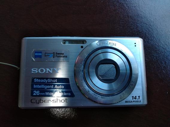 Câmera Digital Sony Cyber-shot W530 14.1mp Zoom Optico 4x