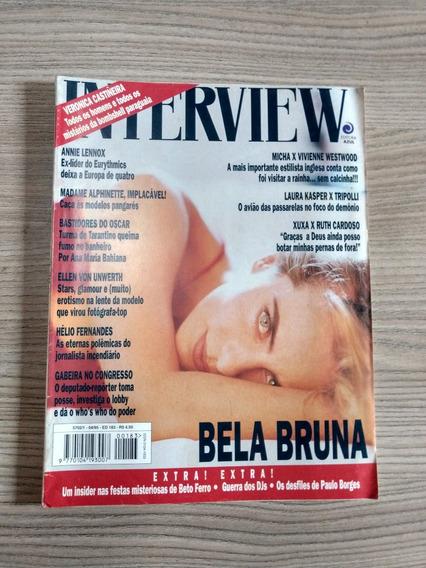 Revista Interview 183 Bruna Lombardi 768