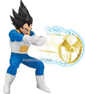 Dragon Ball Z Super Vegeta Lanzador 17 Cm Original Bandai