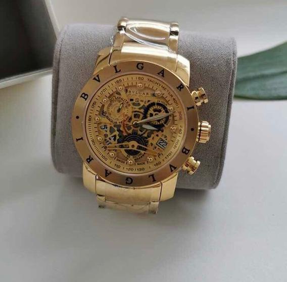 Relógio Bvlgari Aaa+ 100% Funcional Automático