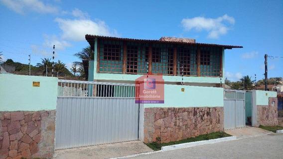Casa Temporada Para Venda E Locação, Praia De Tabatinga, Nísia Floresta - Lv1109. - Ca0179