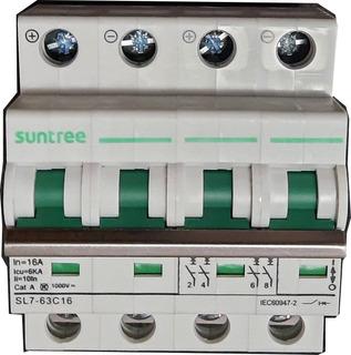 Térmica Para Corriente Contínua Suntree 4p 1000v 16a Sl7-63